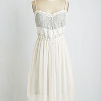 Boho Long Spaghetti Straps A-line Only Time Will Fairytale Dress