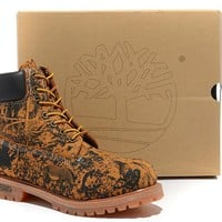 Timberland Icon 6-inch Premium Classic Zoo Wheat Waterproof Boots
