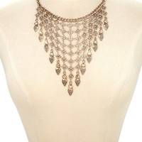 Teardrop Statement Necklace | Forever 21 - 1000186861