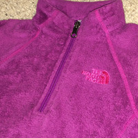 Sale!! Vintage The NORTH FACE girl's fleece TNF Jacket