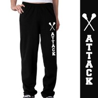 Lacrosse Attack Fleece Sweatpants