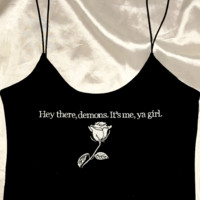 SWEET LORD O'MIGHTY! HEY THERE DEMONS SKINNY TANK