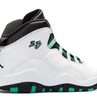 spbest Air Jordan 10 Retro  Verde  GS