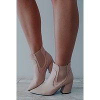 Girl On The Go Booties: Blush