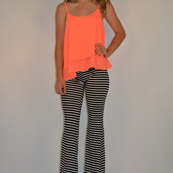 Striped and Savvy Pants