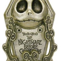"Neca Nightmare Before Christmas Pewter ""Jack Bite"" Door Knocker"