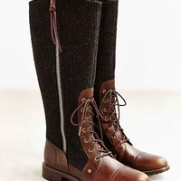 Woolrich Roadhouse Stripe Tall Boot- Grey