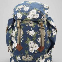 All-Son Peaks Floral Rucksack- Bright Blue One