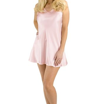 Fishers Finery Women's Essential 100% Pure Mulberry Silk Chemise