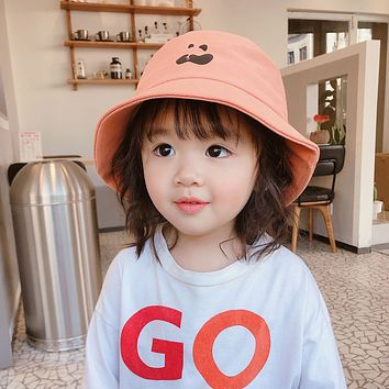 Japanese Fisherman Hat Unisex, Both Men And Women Can Be Fashionable And Cute Children's Hat All-Match Cartoon Baby
