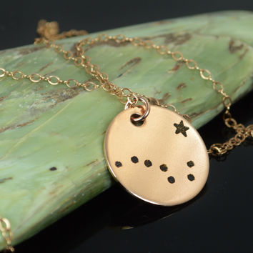 Copy of Rose Gold Big Dipper Necklace