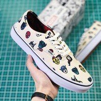 "Vans X Marvel ""Avengers"" Vans Classic Slip-On - Best Deal Online"