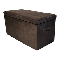 Casual Home Bedroom Storage Ottoman