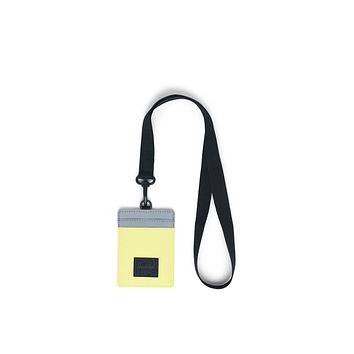 Herschel Supply Co. - Charlie Lanyard Highlight Reflective Silver Reflective Wallet