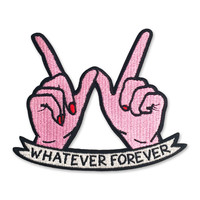 Sara M. Lyons Whatever Forever Patch