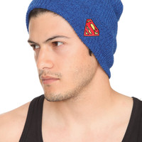 DC Comics Superman Marled Beanie | Hot Topic