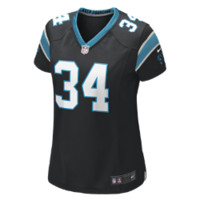 Nike NFL Carolina Panthers (DeAngelo Williams) Women's Football Home Game Jersey