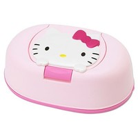 Hello Kitty 80 pcs Wet Wipes w/ Case Sanrio