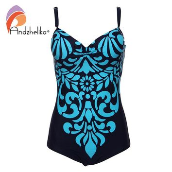 Swimwear One Piece Swimsuit Newest Floral printing Bodysuit Bathing Suits Swimsuits Monokini