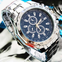 Fashion Mens Stainless Steel Quartz Analog Hand Sport Wrist Watch 3 Colors = 1956934596