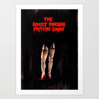 The Rocky Horror Picture Show Art Print by Zombie Rust