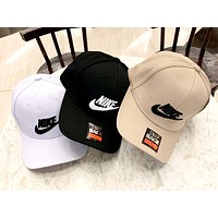 NIKE 2019 new men and women models embroidery logo outdoor sports baseball cap