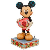 Disney ''A Gift of Love'' Mickey Mouse Figurine by Jim Shore | Disney Store