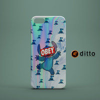STITCH OBEY EMOJI Design Custom Case by ditto! for iPhone 6 6 Plus iPhone 5 5s 5c iPhone 4 4s Samsung Galaxy s3 s4 & s5 and Note 2 3 4