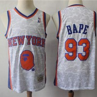 DCCK New York Knicks 93 Bape Swingman Basketball NBA Jerseys