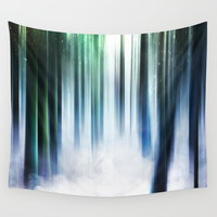Magical Forests Wall Tapestry by happymelvin