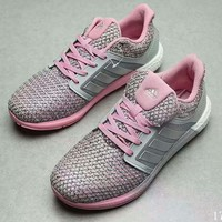 Adidas Trending Women Casual Sports Sneakers Shoes running shoes pink