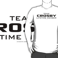 Team Crosby Lifetime Member by Albany Retro