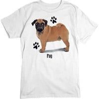 [Short Sleeve Tee] - Pug Profile