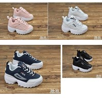 *Ready Stock* Fila Disruptor 2 Baby Shoes Basketball Shoes Kids Shoes