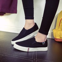 Spring Slip-on Canvas Shoes