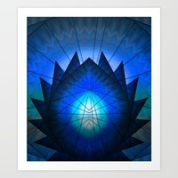 Lotus Divine Art Print by Gift Of Signs