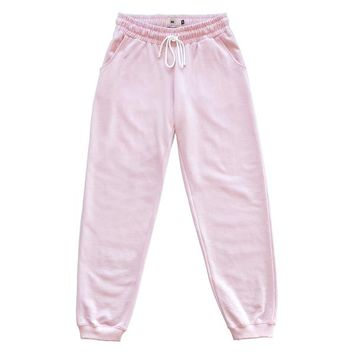 ME Rose Sweatpants - Baby Pink