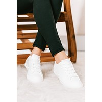 Sky's the Limit Jelly Sneakers (White)