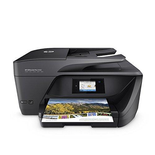 Image of HP T0F28A#B1H OfficeJet All-in-One Wireless Printer with Mobile Printing Instant Ink ready OJ Pro 6968 Black