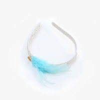 Anais & I Headband in Sky Feather A10004 - Final Sale