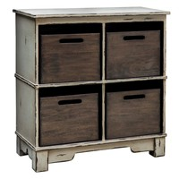 Ardusin Gray Hobby Cupboard by Uttermost