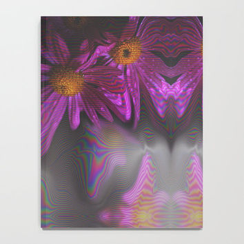 Notebook - Journal - Blank Book - Lined - Unlined - Purple Flowers - Diary - Made to Order