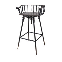 Crestly Metal Bar Chair