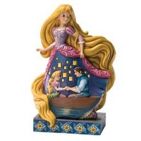 Enesco Disney Traditions by Jim Shore Rapunzel from Tangled Figurine, 9-Inch