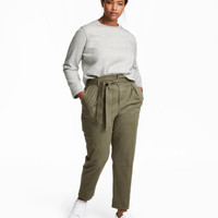 H&M H&M+ Paper-bag Pants $49.99