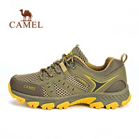 CAMEL Men Summer Hiking Shoes Men Air Mesh Breathable Lightweight Waterproof Outdoor Sports Camping Climbing Trekking Sneakers
