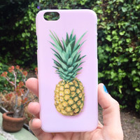 Chic Pineapple iPhone Case