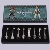 Kingdom Hearts Keyblade Necklace Pendant Series A