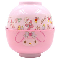 Buy Sanrio My Melody Double Rice and Soup Bowl Set at ARTBOX