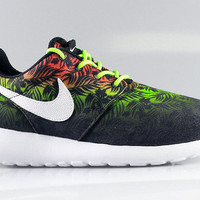 Nike Kid's Roshe Run GS Exotic Floral Print